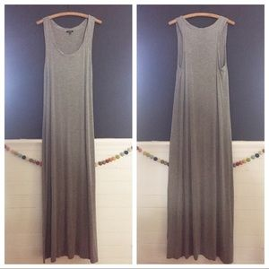 Apt. 9 Gray Maxi Dress L